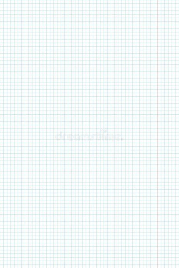 Prześcieradło papier szkoły notatnika vertical tło ilustracji