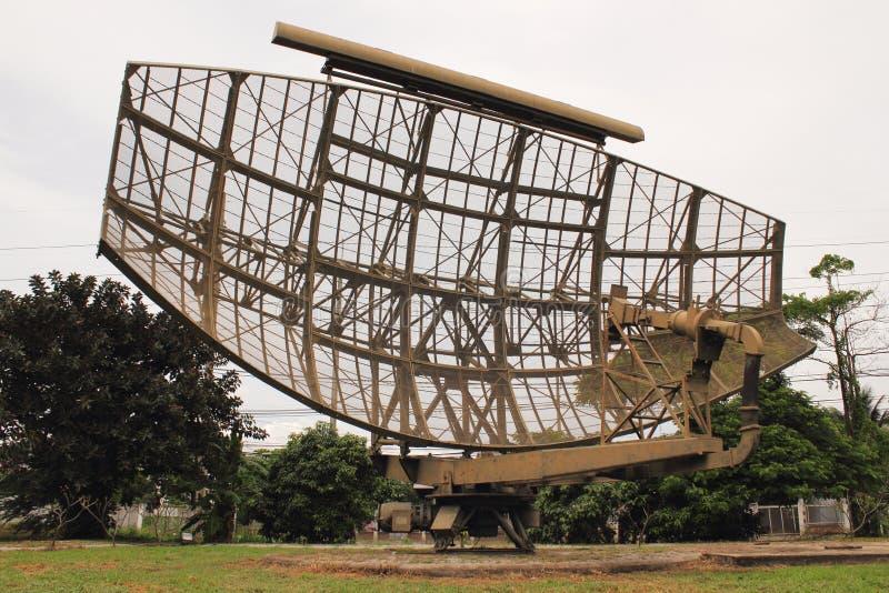 przechodzić na emeryturę militarny radar obraz royalty free