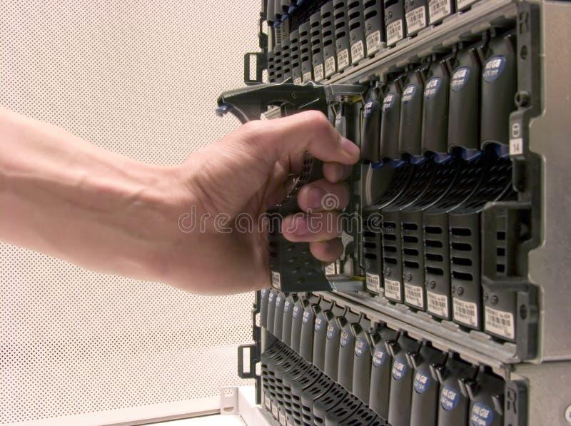 przechowywania danych obraz stock