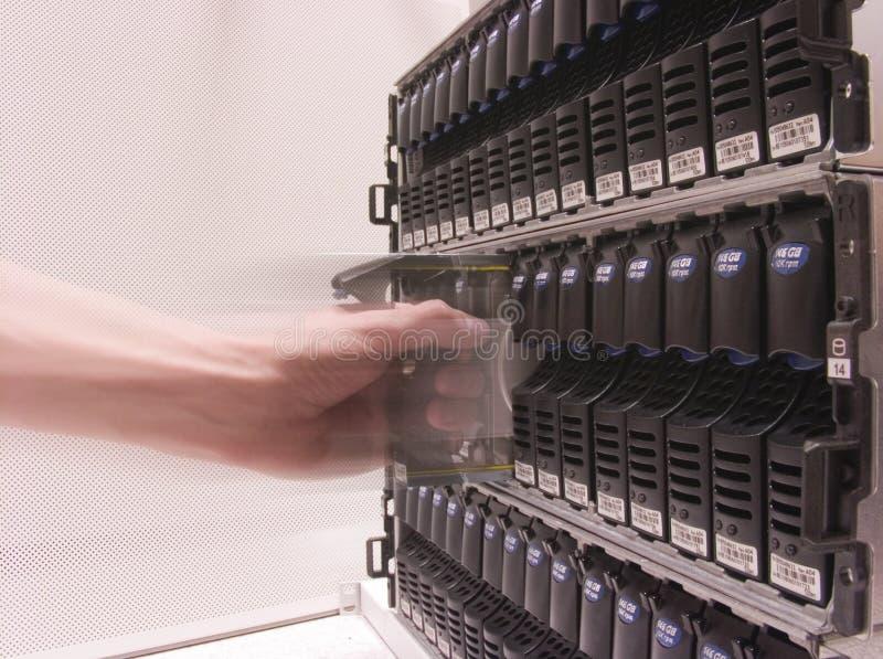 przechowywania danych zdjęcie stock