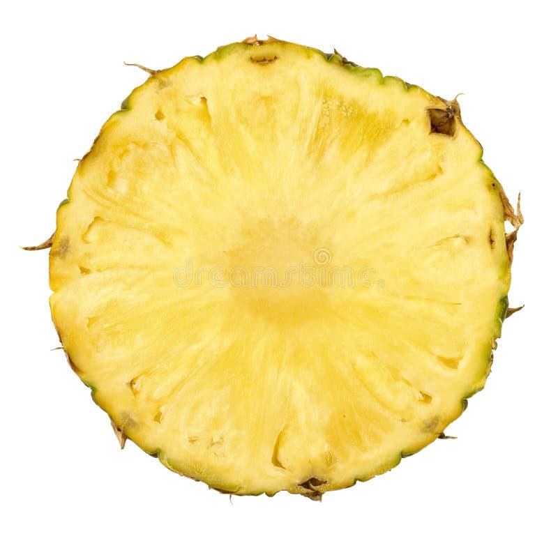 przecięcie ananasy fotografia royalty free