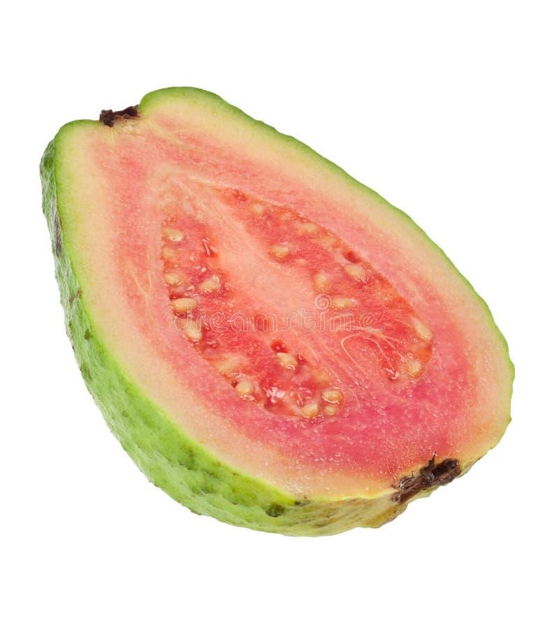 przecinająca guava menchii sekcja zdjęcie royalty free