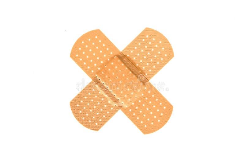 Przecinający bandaid obrazy stock