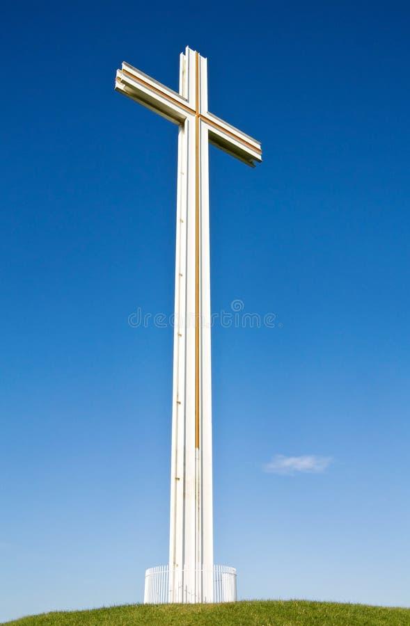 przecinający chrześcijanina biel obrazy royalty free