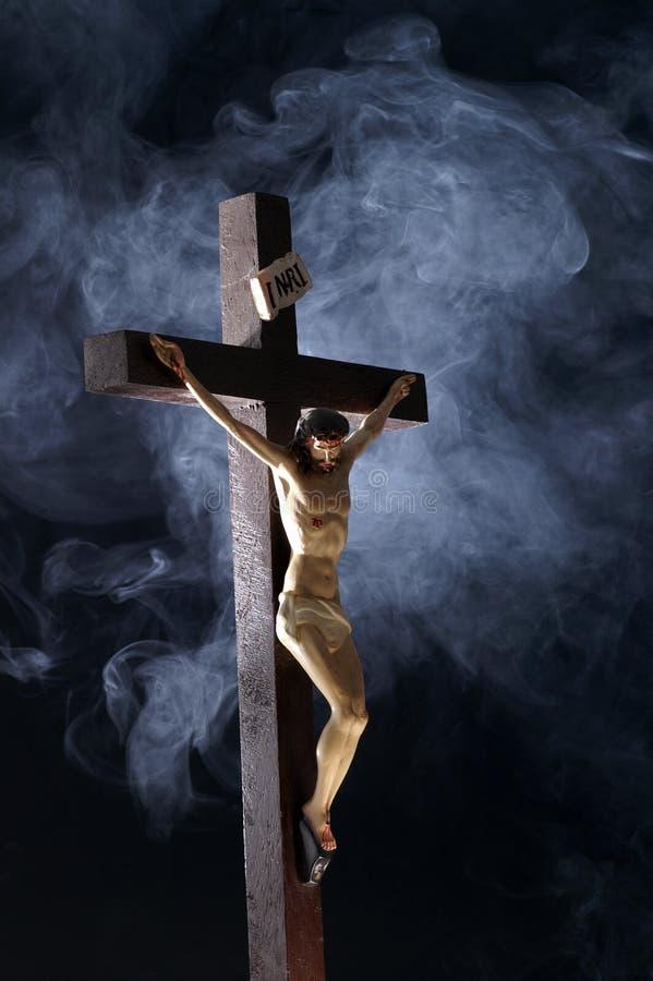 przecinający Jesus zdjęcie royalty free