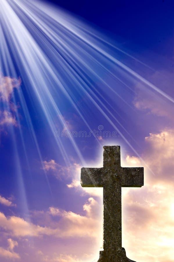 przecinający religijny zdjęcie stock