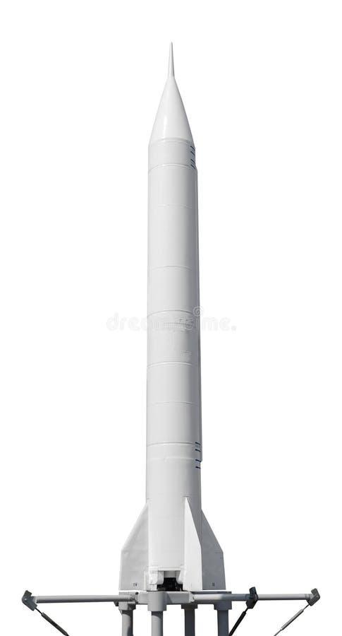 przeciw błękit dna zakończenia cztery nozzle rakietowej nieba przestrzeni fotografia royalty free
