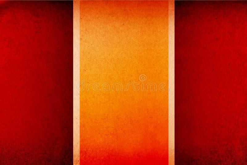 przeciw tła sztandarów kolorowy pusty grungy fotografia royalty free