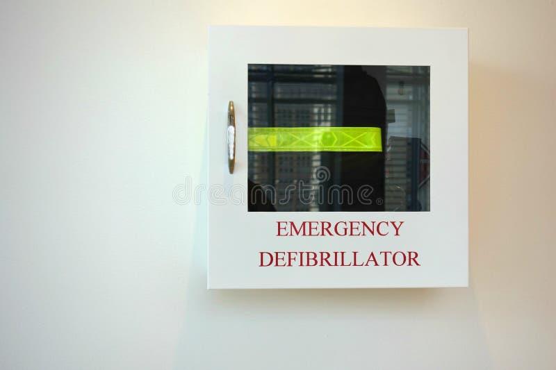 Przeciwawaryjny Defibrillator obrazy stock