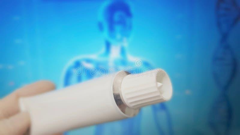 Przeciwbólowa maści tubka dla bólów fotografia royalty free