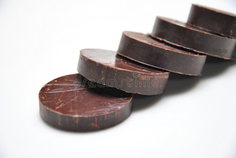 Przed Gorącą czekoladą zdjęcia stock