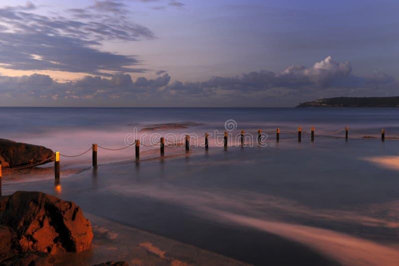 Przed Wschód słońca zdjęcie stock