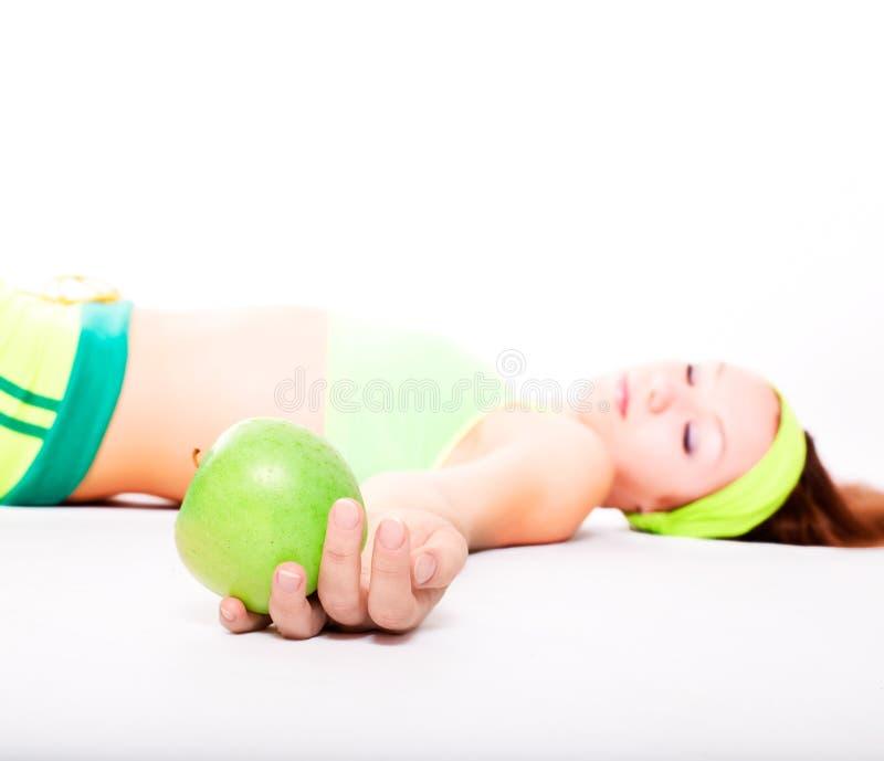 przedawkowanie fizycznej fitness fotografia royalty free