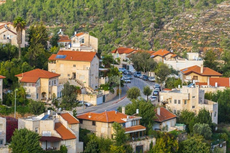 Przedmieście Jerozolima, Izrael zdjęcie stock