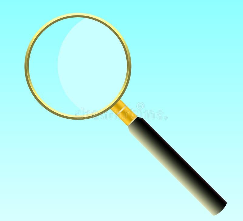 Przedmiota magnifier dla powiększać przedmioty zdjęcie royalty free