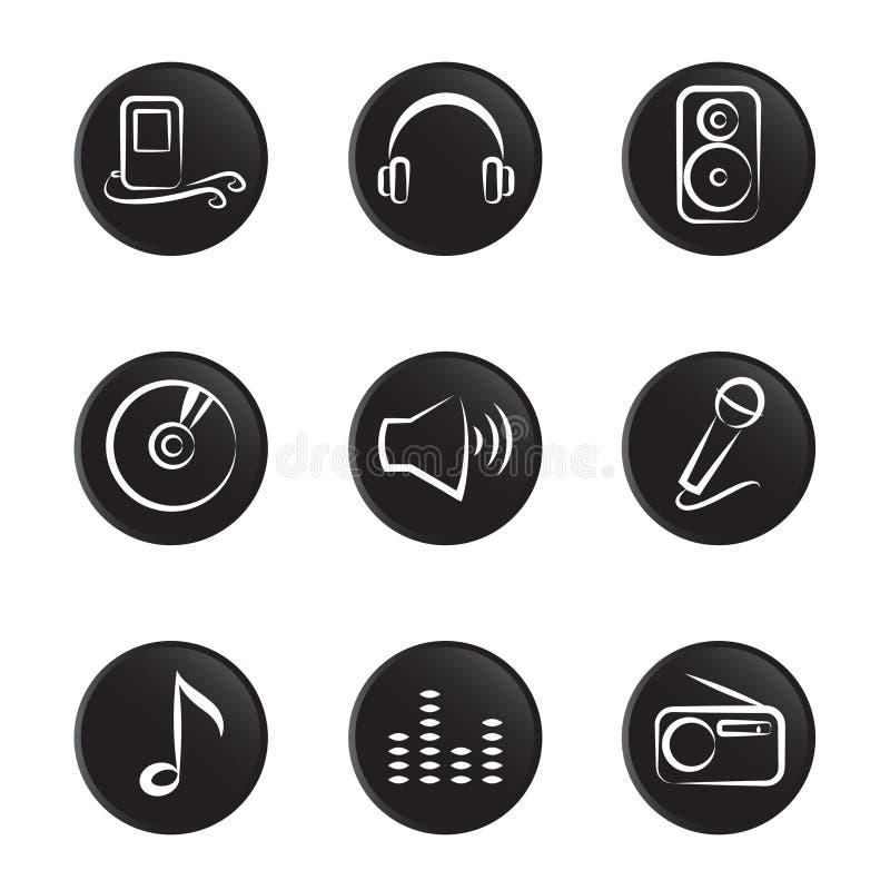 przedmiota muzyczny set ilustracji