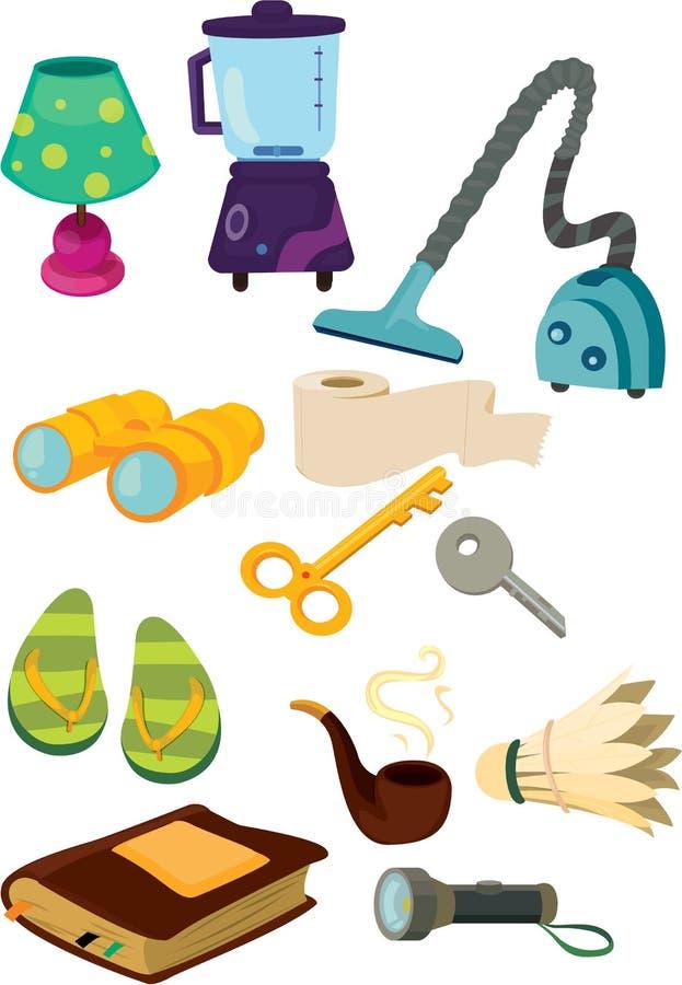 przedmioty ilustracja wektor