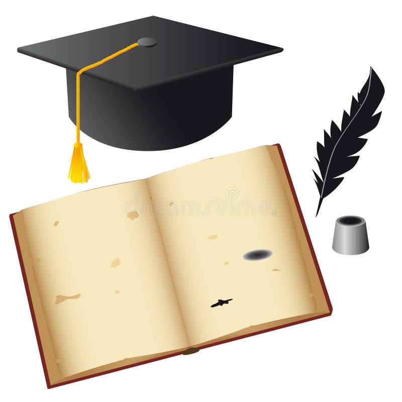 przedmioty ustawiający uczeń royalty ilustracja