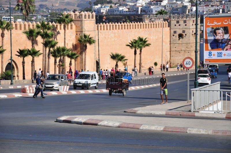 przedni Mohamed Morocco pałacu Rabat royal kwadrat vi zdjęcia stock