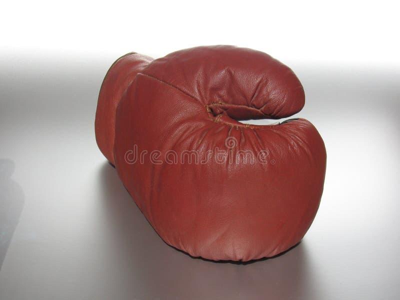 przednia bokserska rękawiczka fotografia stock