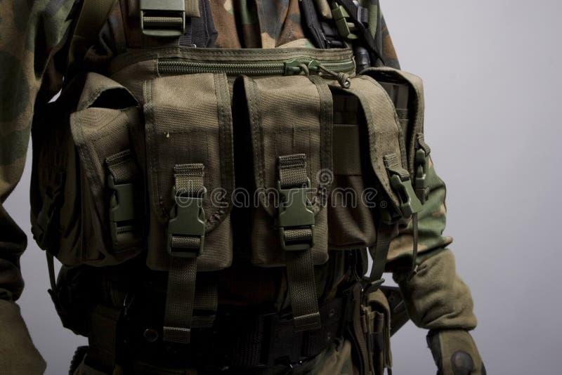 przednia kieszonek lbv żołnierz obrazy stock