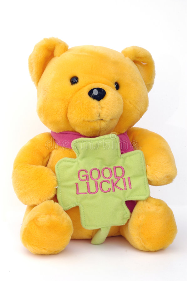 przednia teddy bear fotografia stock