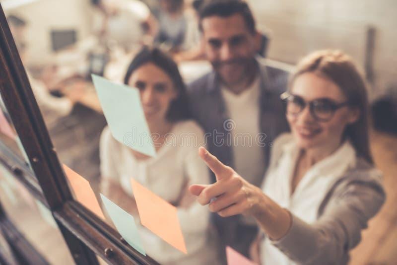 przedsiębiorcy do pracy obraz stock