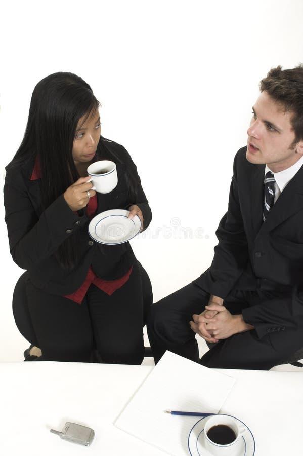 przedsiębiorcy porozmawiać zdjęcie royalty free