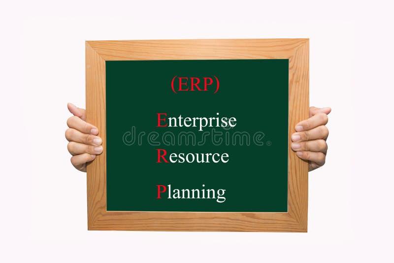 Przedsięwzięcie zasoby planowanie (ERP) obrazy stock