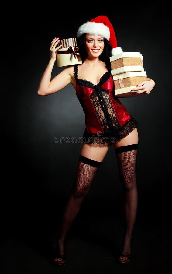 przedstawia seksownej kobiety zdjęcia stock