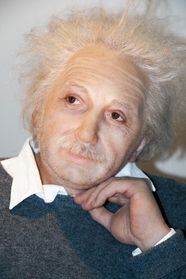 Albert Einstein obrazy stock