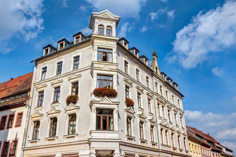 Przedstawicielski budynek w Freiberg obrazy royalty free
