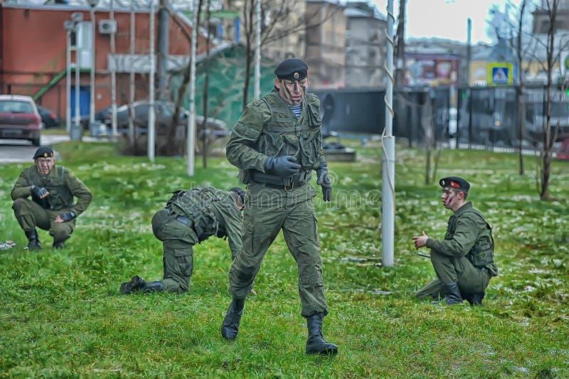 Przedstawienie korpusy piechoty morskiej obraz stock