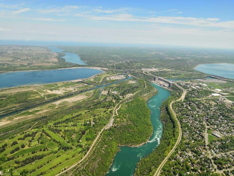 Przegapiać Niagara region fotografia royalty free