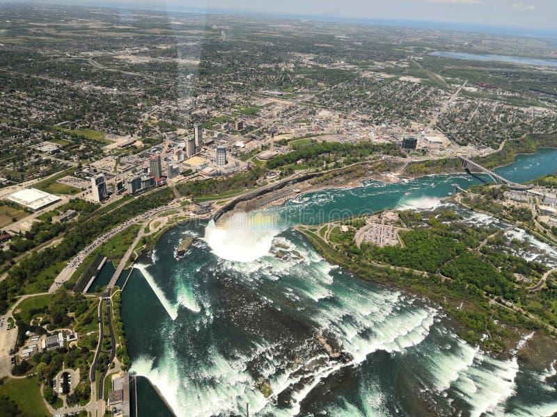 Przegapiać Niagara region zdjęcie stock
