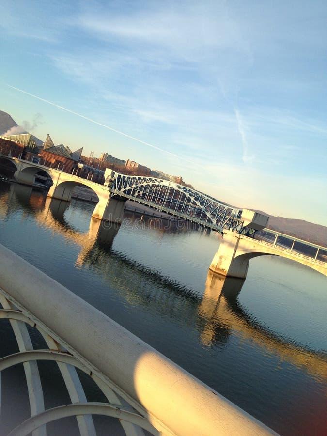 Przegapiać Tennessee rzekę zdjęcie royalty free