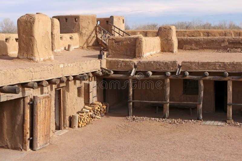 Przegiętego ` s Starego fortu Krajowy Historyczny miejsce zdjęcia royalty free