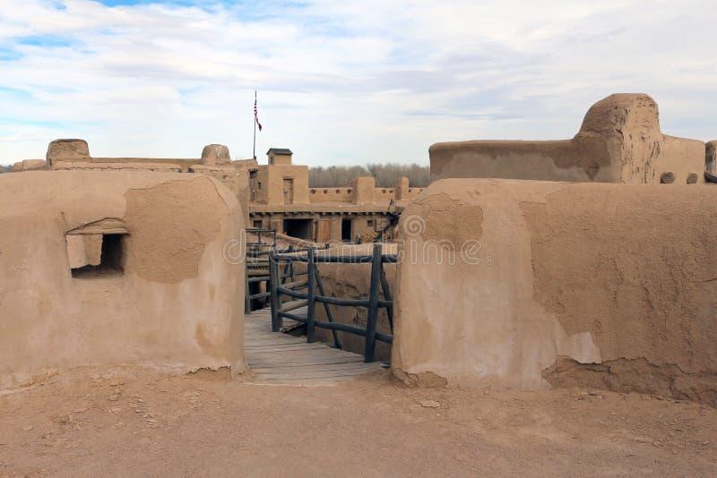 Przegiętego ` s Starego fortu Krajowy Historyczny miejsce obrazy royalty free