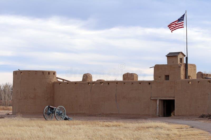Przegiętego ` s Starego fortu Krajowy Historyczny miejsce obraz royalty free