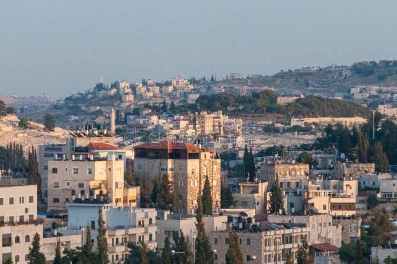 Przegląd Jerozolima obrazy royalty free