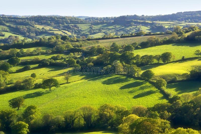 Przegląd Od Coney ` s kasztelu W Dorset zdjęcie royalty free