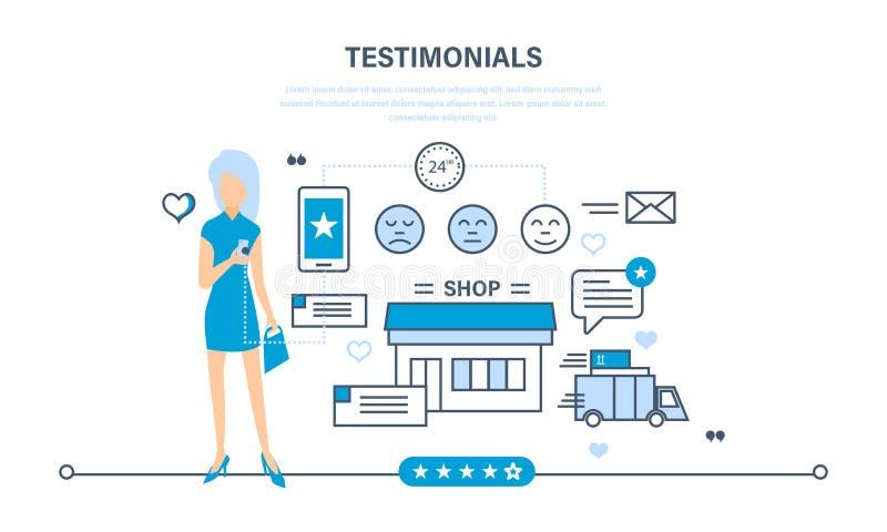 Przeglądy praca sklep, oceny, rekomendacje i komentarze, ilustracji