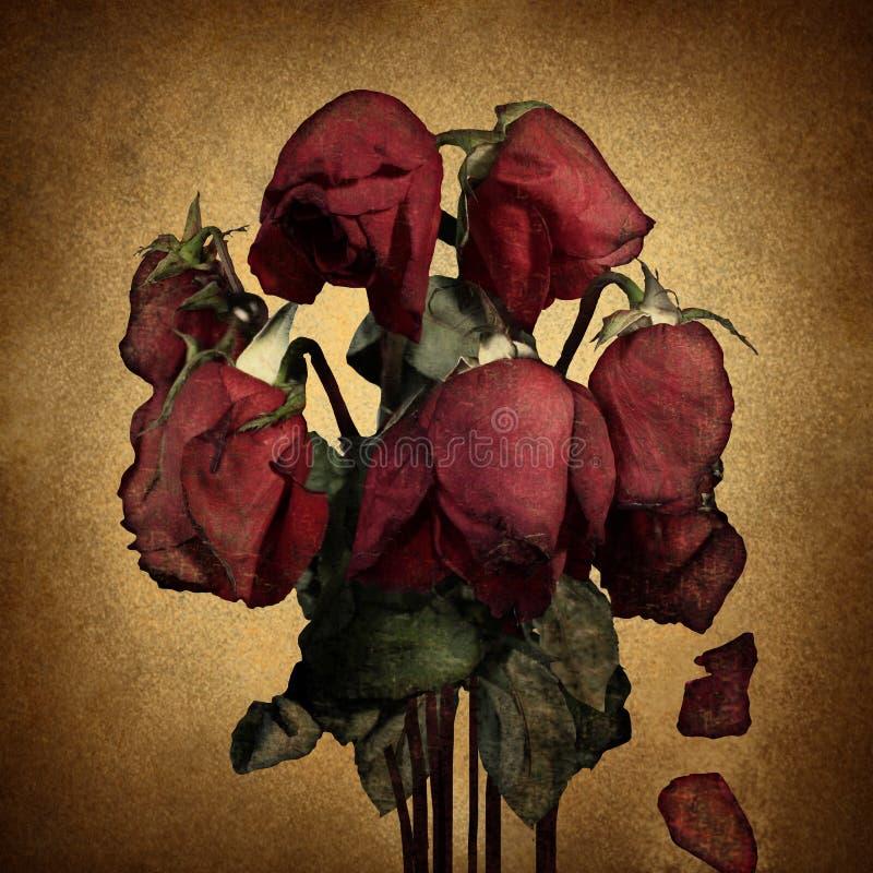 Przegrana miłość royalty ilustracja