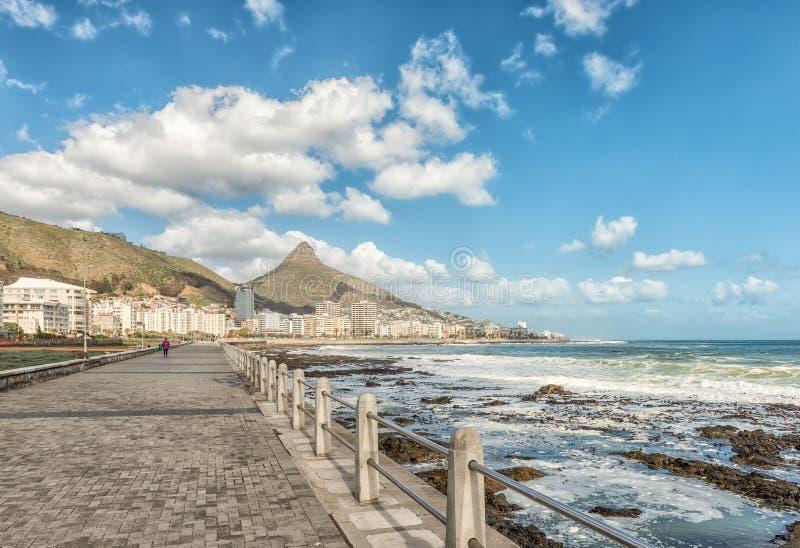Przejście przy Mouille punktem w Kapsztad zdjęcia stock