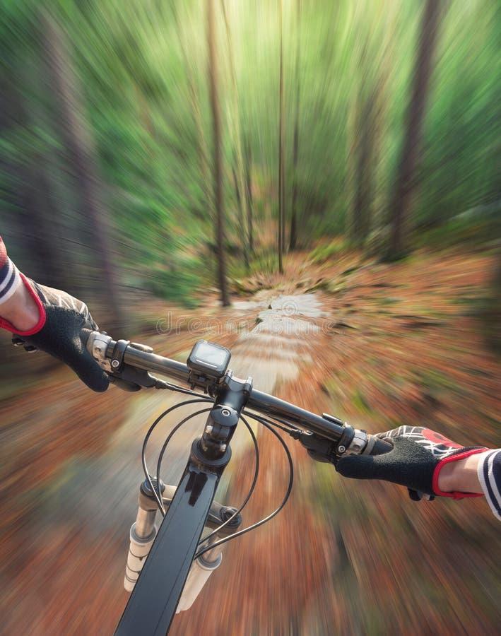 Przejażdżka na bicyklu fotografia royalty free