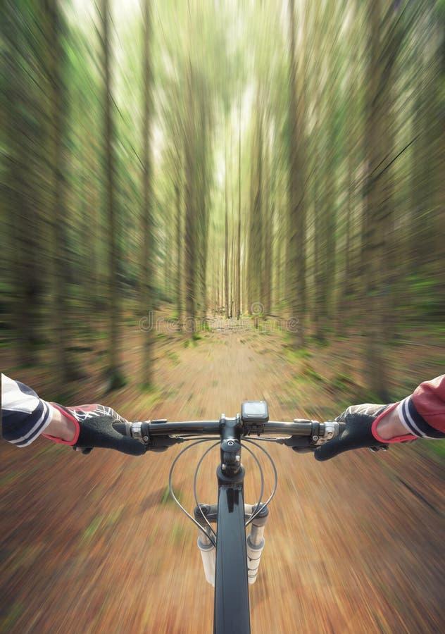 Przejażdżka na bicyklu obrazy stock