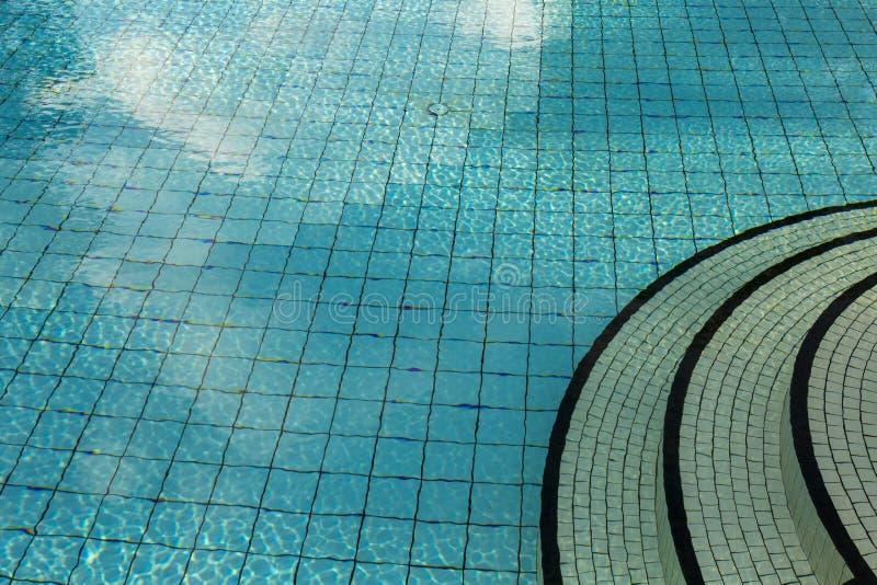 Przejrzysta woda basen zdjęcia royalty free