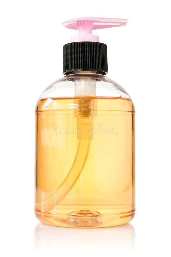 przejrzysty butelka ciecz zdjęcie royalty free