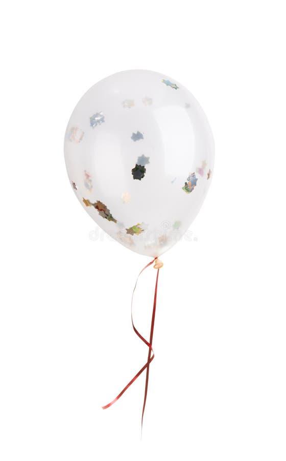 Przejrzysty helu balon z błyska zdjęcie royalty free
