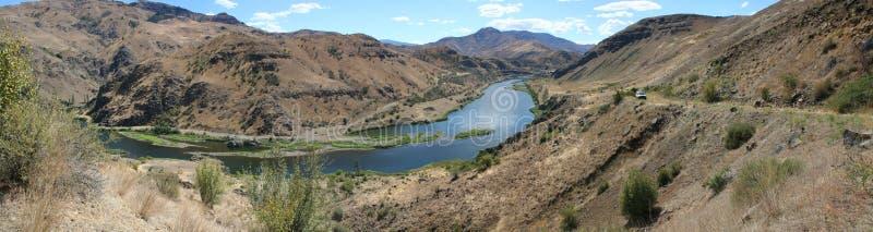 Przekąski rzeka zdjęcie royalty free